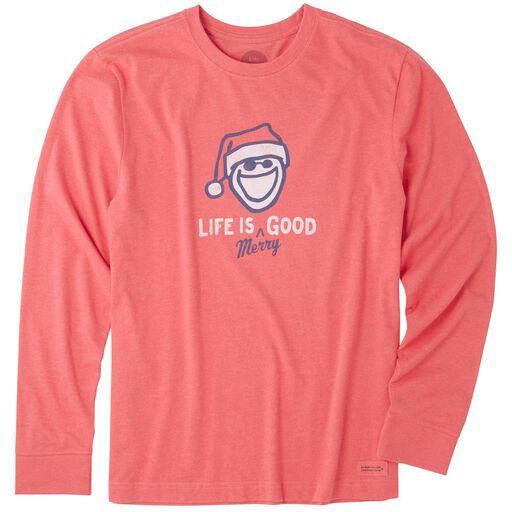Life Is GoodR Mens Merry Good Long Sleeve T Shirt