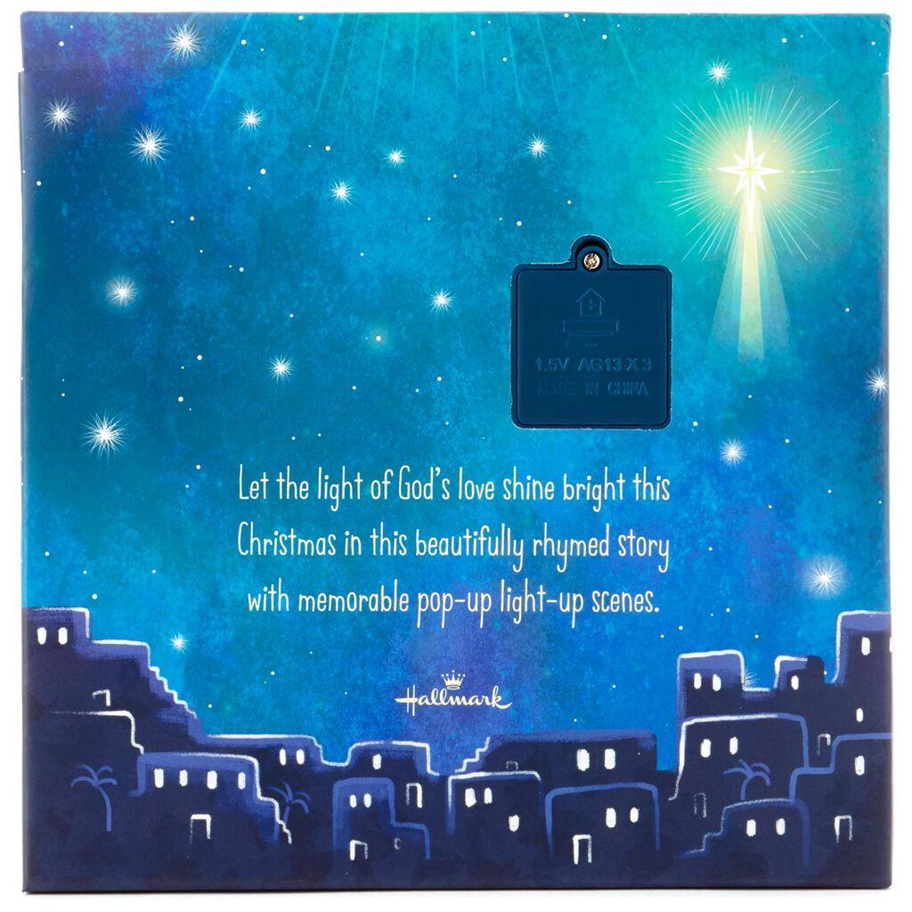 Light Of Christmas.The Light Of Christmas Lighted Pop Up Book