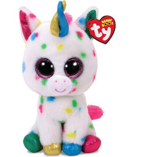 Ty® Beanie Boos Medium Harmonie Speckled Unicorn Stuffed Animal 9e8a98559b8