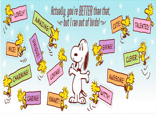 Peanuts® Snoopy and Woodstock Funny Mother's Day Card for Wife,