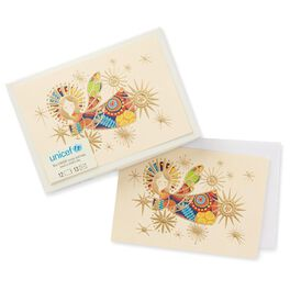 Colorful Angel Christmas Boxed Cards, , large
