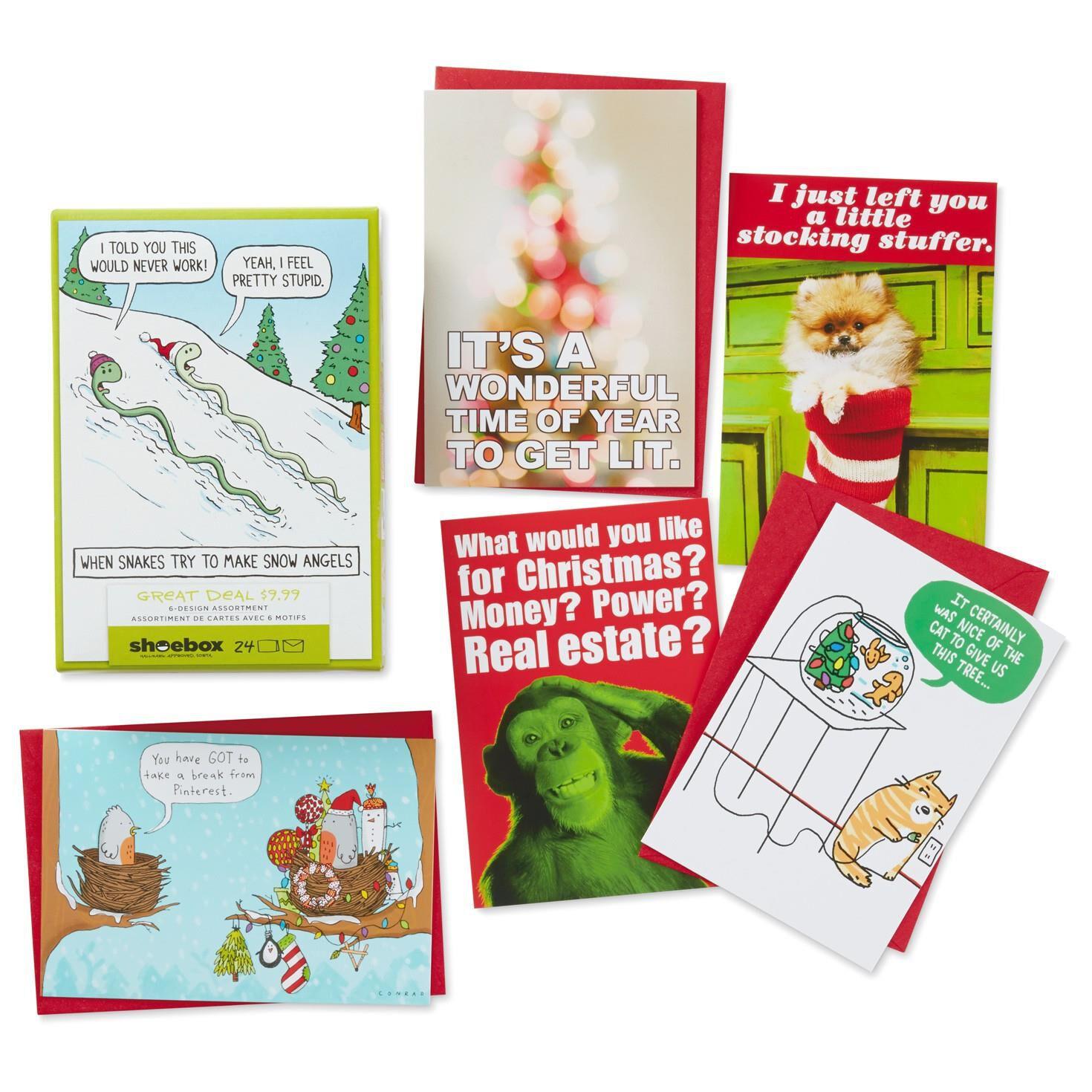 shoebox christmas cards - Shoebox Christmas Cards