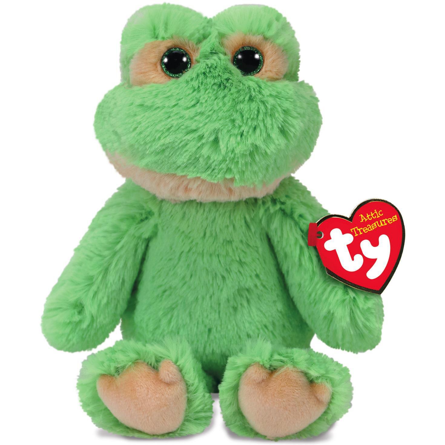 Ty® Attic Treasures Floyd Frog Stuffed Animal 8   sc 1 st  Hallmark & Ty® Attic Treasures Floyd Frog Stuffed Animal 8