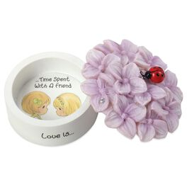 Precious Moments® Love Is… Time Spent With a Friend Trinket Box, , large