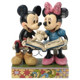 Jim Shore® Mickey and Minnie Mouse Sharing Memories Figurine, 85th Anniversary Edition, , large