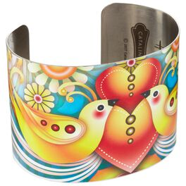 Catalina Estrada Lovebirds Cuff Bracelet, , large