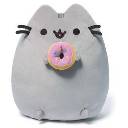 """Pusheen Donut 9.5"""" Stuffed Animal by GUND, , large"""