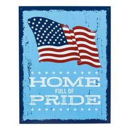 Home Full of Pride Metal Sign, , large