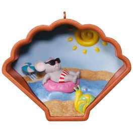 Cookie Cutter Mouse Vacation Ornament, , large