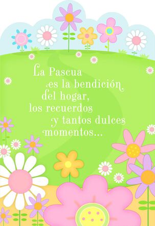 Sweet Moments Spanish-Language Easter Card