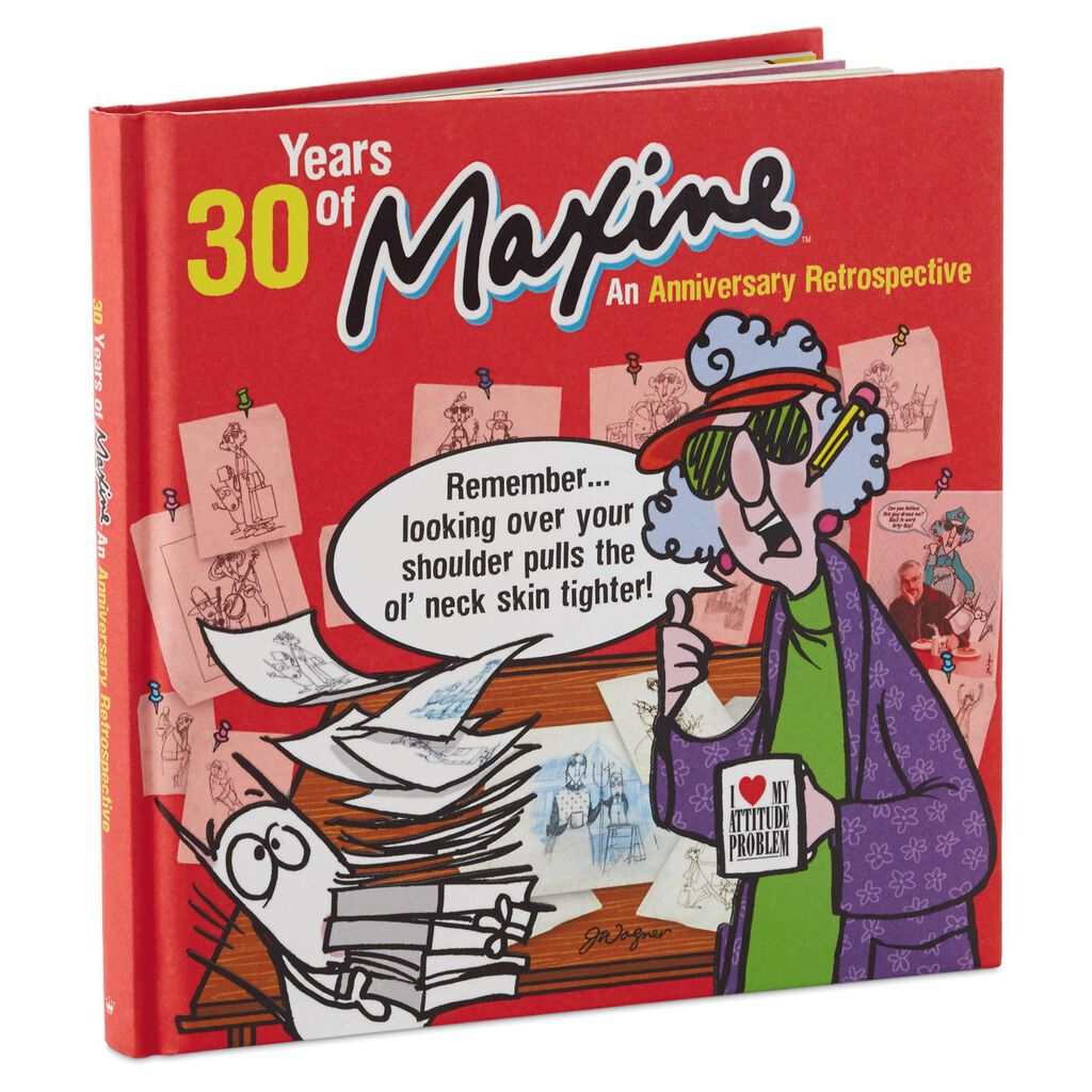 30 Years Of Maxine An Anniversary Retrospective Book