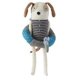 Fleece Dog Premium Stuffed Animal, , large