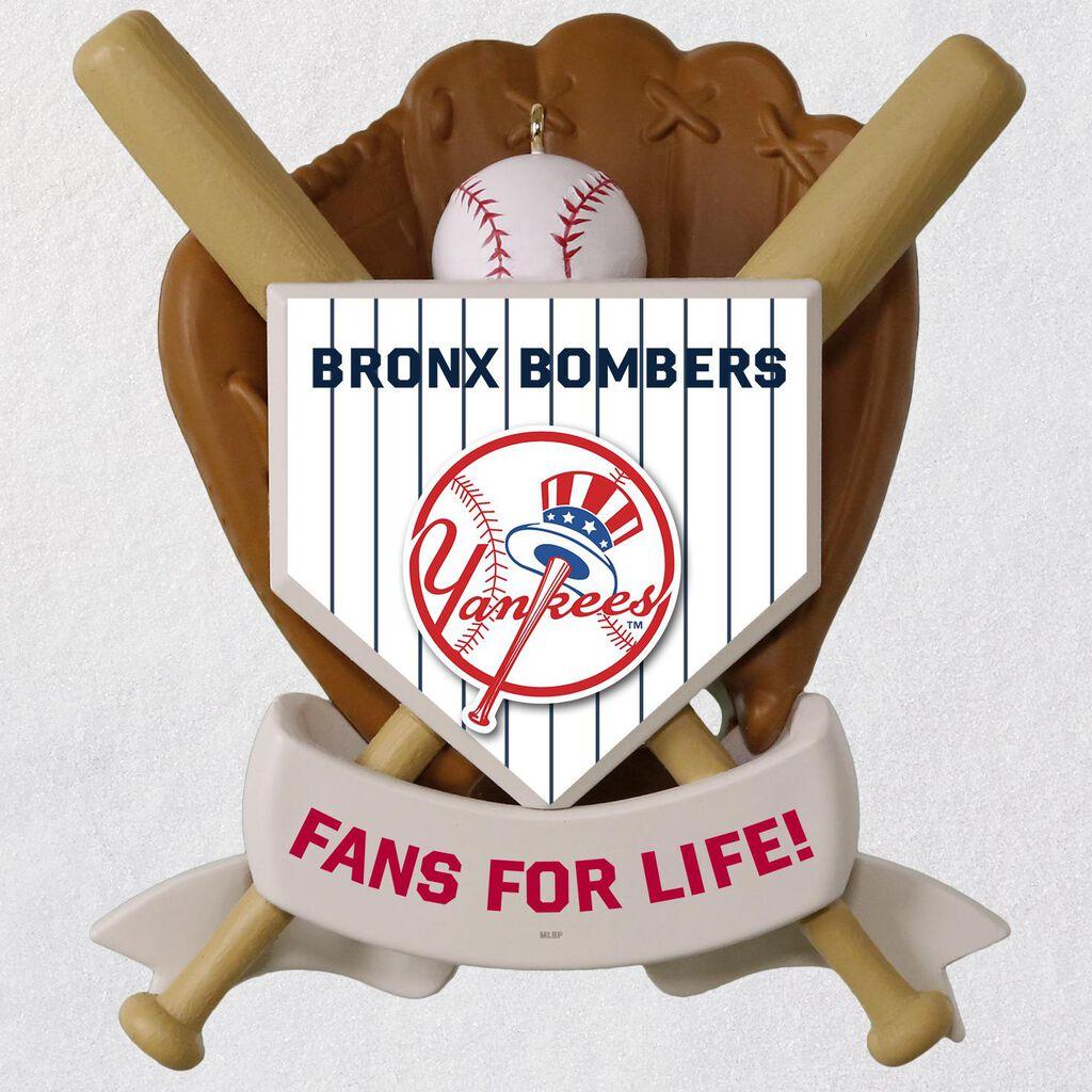 b14aa0fa MLB Baseball Personalized Ornament, Yankees™ - Personalized Ornaments -  Hallmark