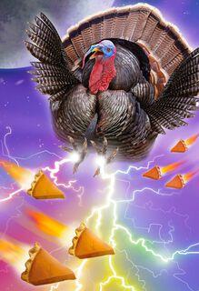Turkey Has Spoken Thanksgiving Card,