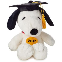 Peanuts® Snoopy Graduation Stuffed Animal Gift Card Holder, , large