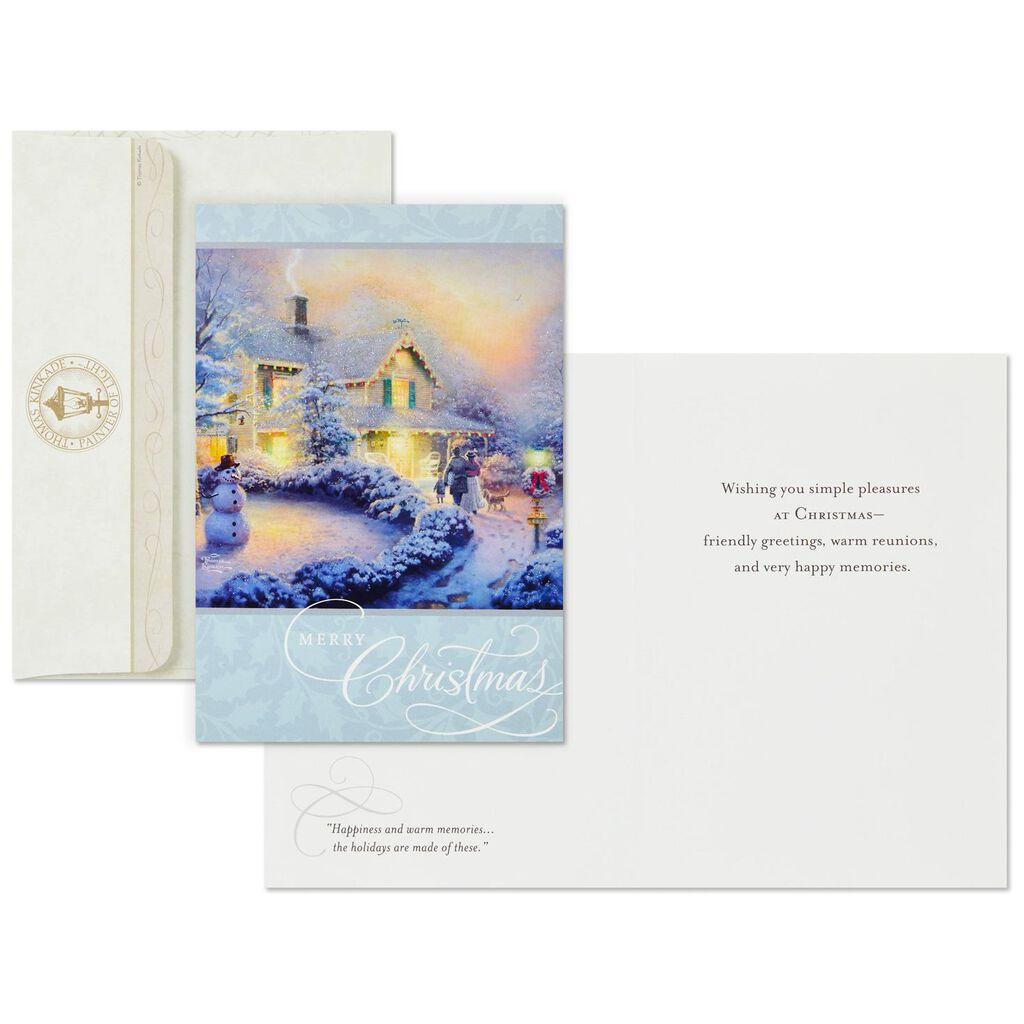 Thomas Kinkade Christmas Memories Christmas Cards, Box of 16 - Boxed ...