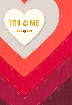 You & Me Valentine's Day Card