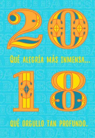 So Very Proud Musical Spanish-Language Graduation Card
