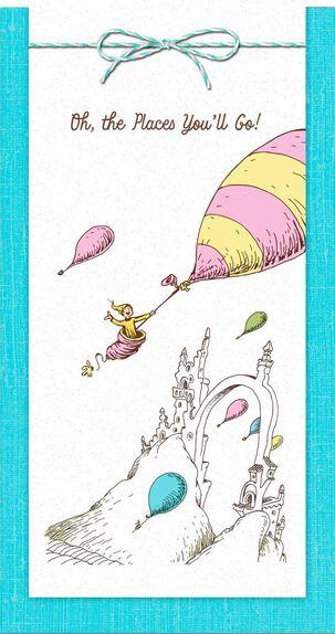 Dr. Seuss™ Oh, the Places You'll Go! Money Holder Graduation Card