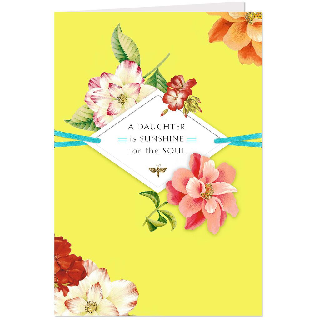 Sunshine For The Soul Birthday Card Daughter