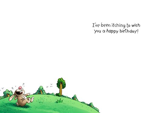 Adam and Eve Funny Birthday Card,