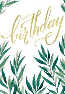 Enjoy the Day Birthday Card,