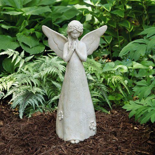Praying Garden Angel Statue