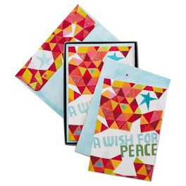 A Wish for Peace Religious Christmas Cards, Box of 16, , large