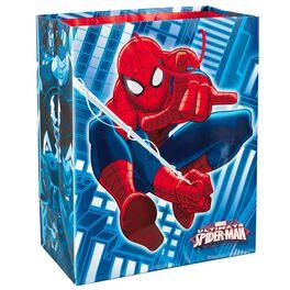 """SPIDER-MAN Large Gift Bag, 13"""", , large"""