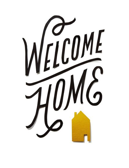 Welcome home congratulations card greeting cards hallmark welcome home congratulations card m4hsunfo