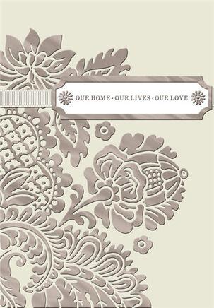 Life, Love, Home Anniversary Card