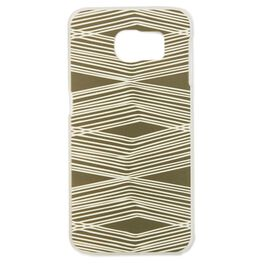 Natural & Authentic Etched Lines Samsung Galaxy S6 Android Phone Case, , large