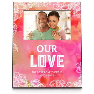 Personalized Love Picture Frame, 4x6,