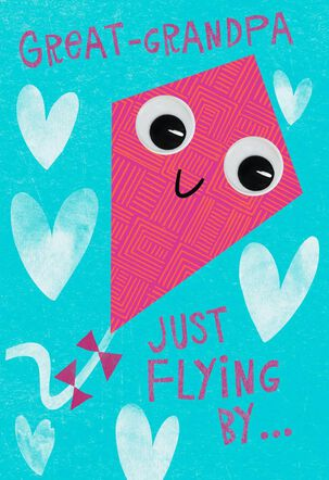 Great-Grandpa Kite Valentine's Day Card
