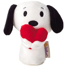 itty bittys® Peanuts® Snoopy Holding Heart Stuffed Animal, , large
