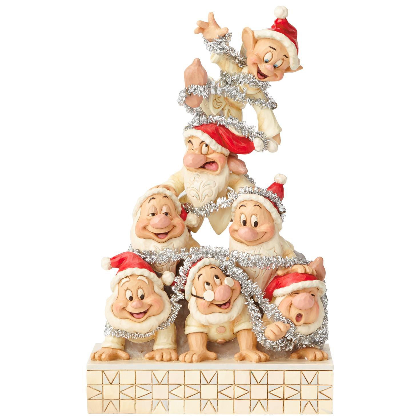 jim shore disney traditions seven dwarfs figurine 8 figurines hallmark