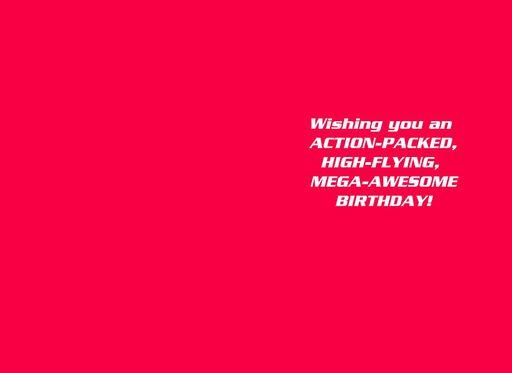Superman™ Mega-Awesome Birthday Card,