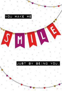 Smile for a Friend Valentine's Day Card,