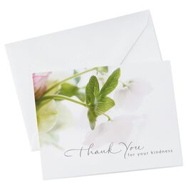 White Floral Stationery, 20 Sheets, , large