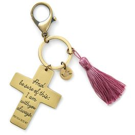 I Am With You Cross Accessory Clip, , large