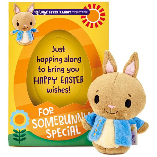 f96a62af5f27 itty bittys® Peter Rabbit Easter Card With Stuffed Animal