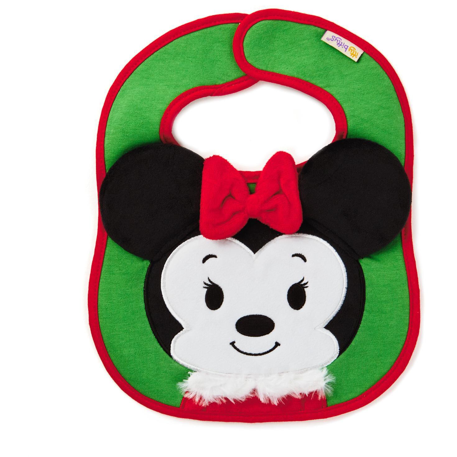 minnie mouse christmas itty bittys baby bib baby essentials hallmark