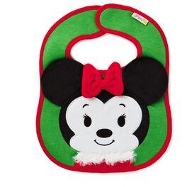 Minnie Mouse Christmas itty bittys® Baby Bib, , large