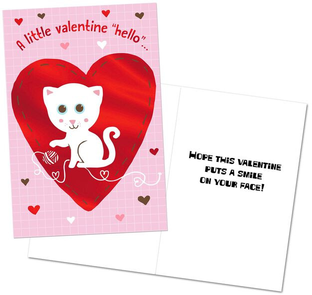 dog and cat valentines day cards - Cat Valentine Cards
