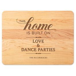 We Built Our Home Personalized Wood Cutting Board, , large