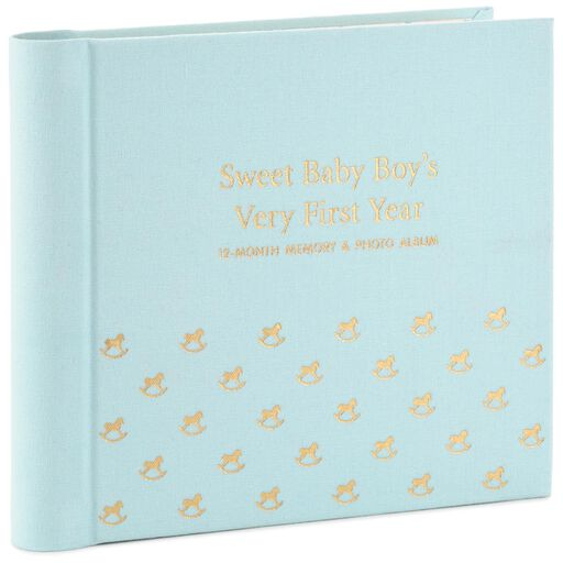 Watch Me Grow Baby Book For Boy