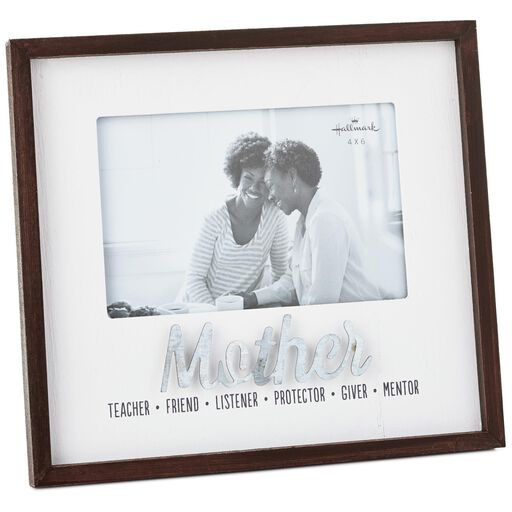80466edf489 Qualities of a Mother Wood Picture Frame