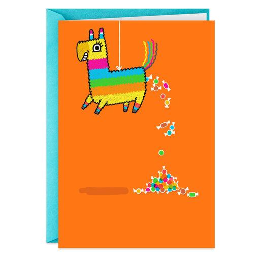 Pinata Pooping Candy Funny Birthday Card