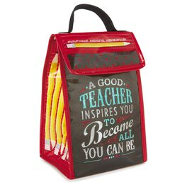 Teachers Inspire Lunch Tote, , large