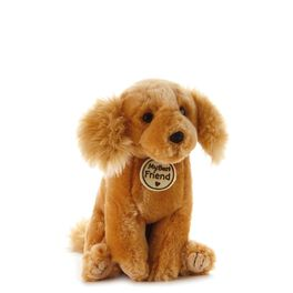 Devoted Golden Dog Small Stuffed Animal, , large